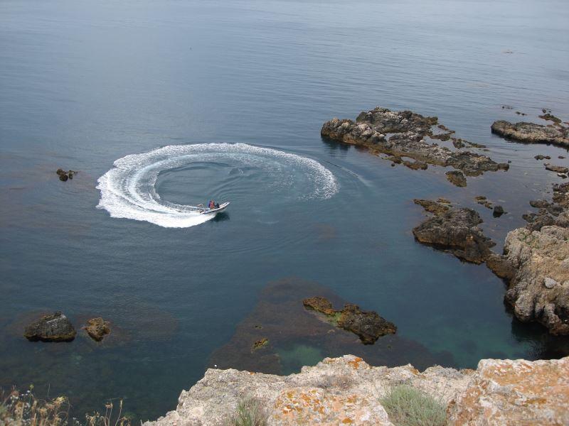 Морские экскурсии по Тарханкуту