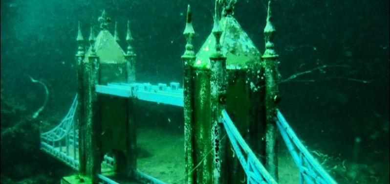 Музей под водой на Тарханкуте